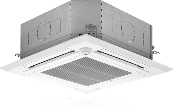 4 Way Ceiling Cassette With Filter Lift 4 Way Ceiling