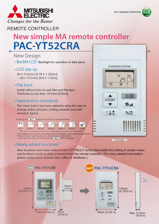 Controllers Pac Yt52cra Mitsubishi Electric Innovations